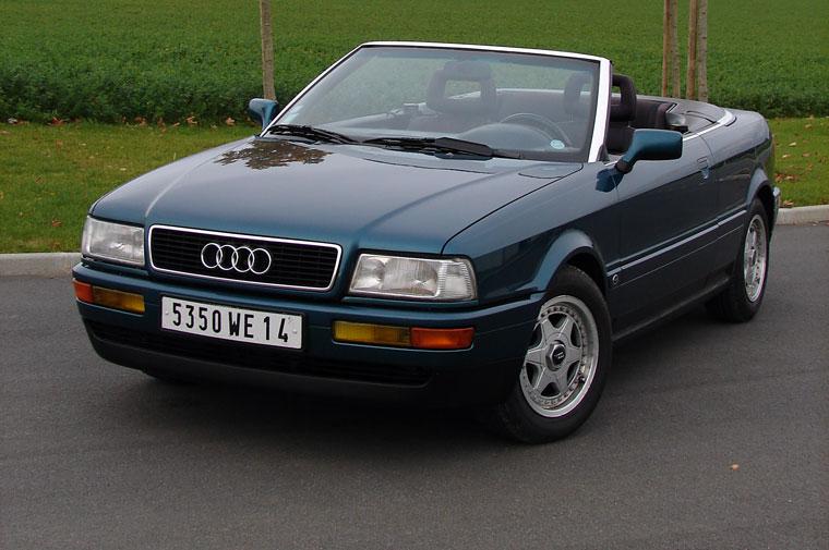 audi cabriolet 1989