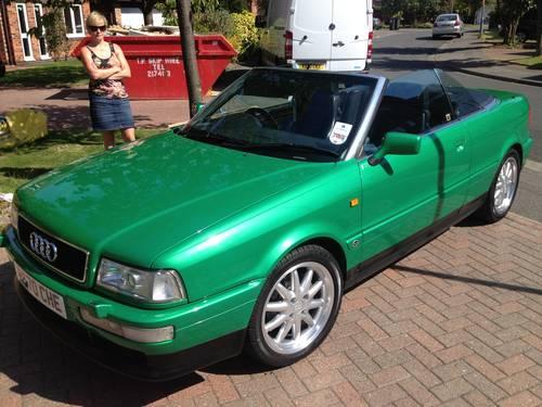 audi cabriolet 1997 for sale