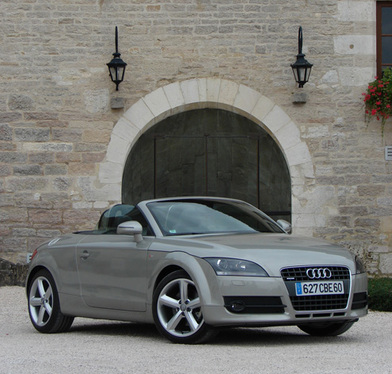 audi cabriolet 2 places