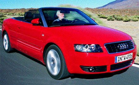 audi cabriolet a4 2003