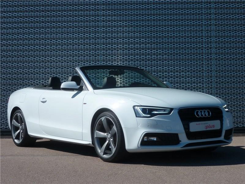 audi cabriolet blanche