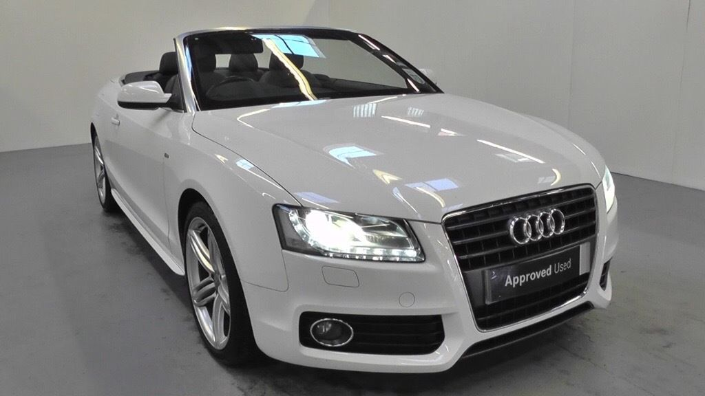 audi cabriolet diesel for sale