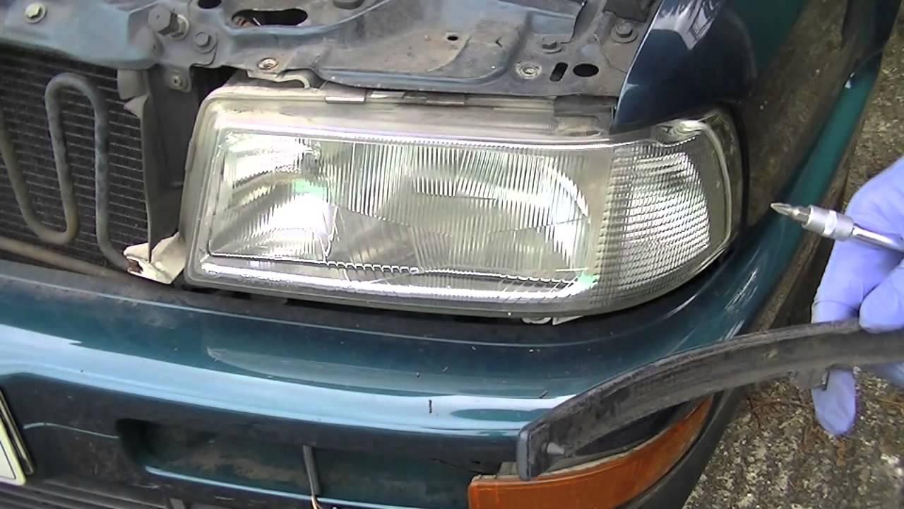 audi cabriolet headlights