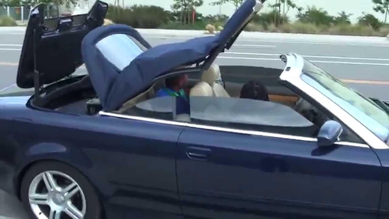 audi cabriolet hood for sale