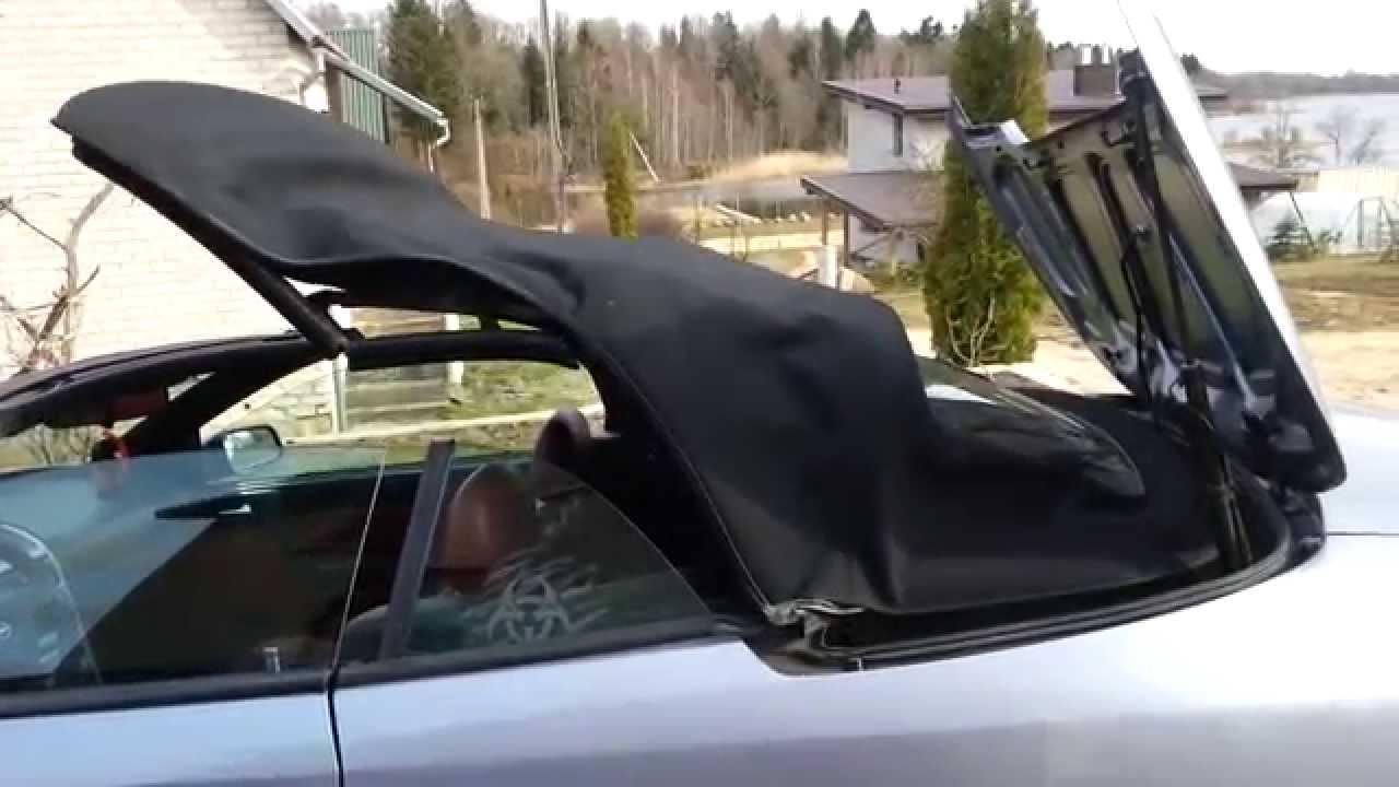 audi cabriolet hood problem