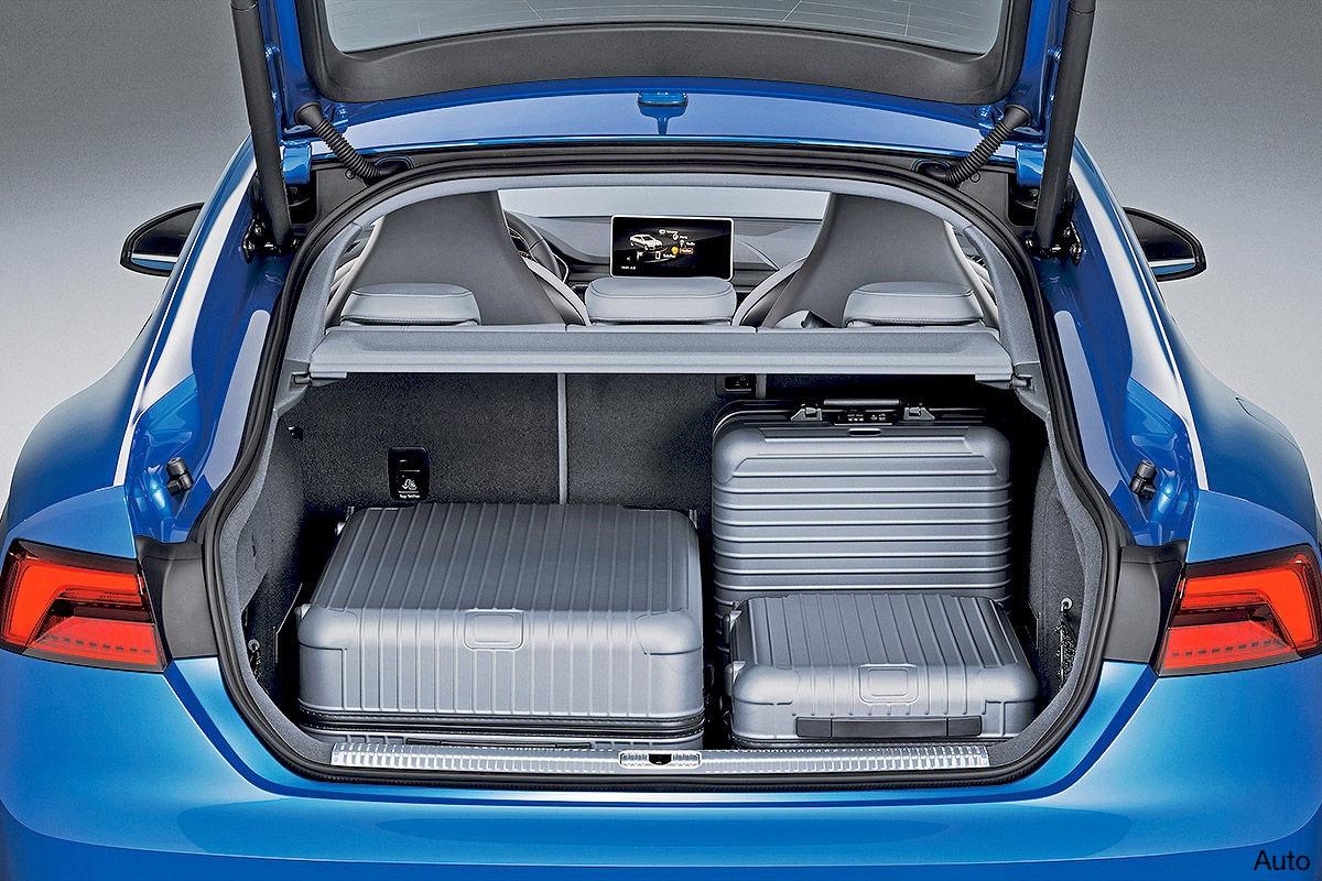 audi cabriolet kofferraumvolumen