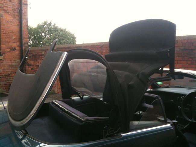 audi cabriolet manual roof
