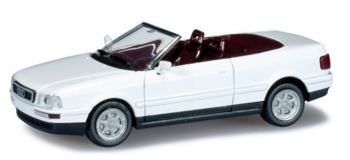 audi cabriolet miniature