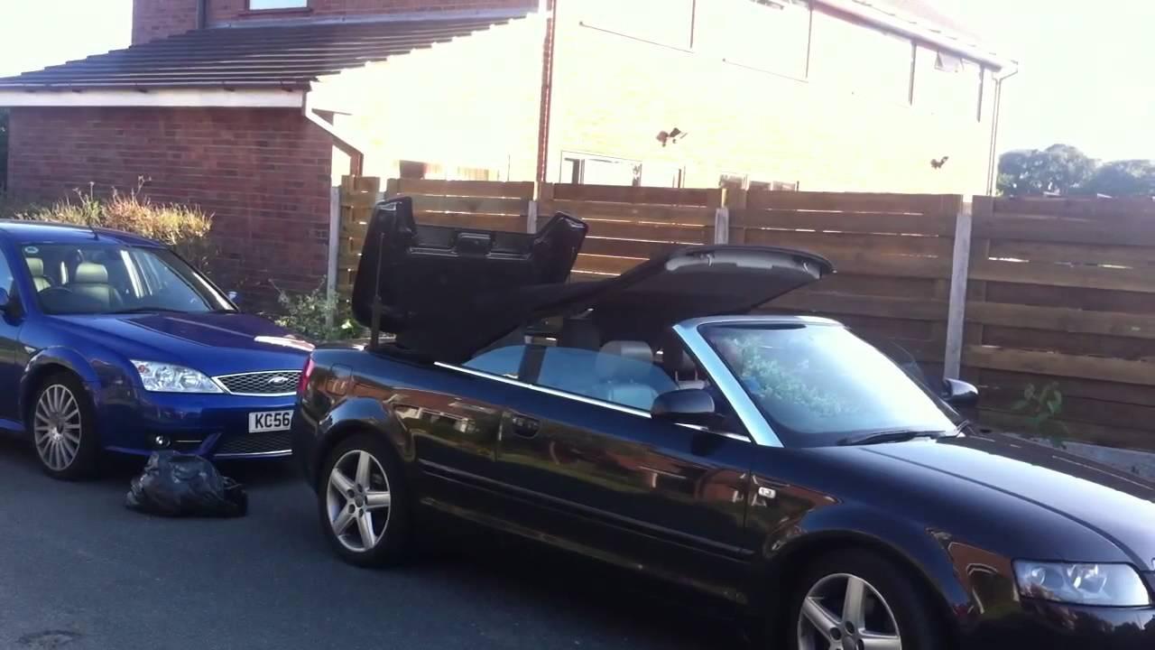 Audi A4 B7 Convertible Roof Problems Best Photos And Description