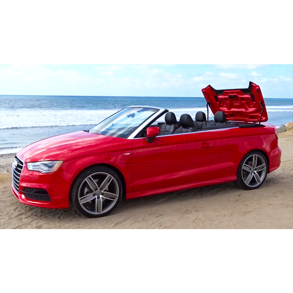 audi cabriolet roof won't open