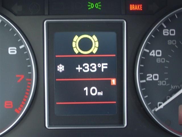 audi cabriolet warning lights