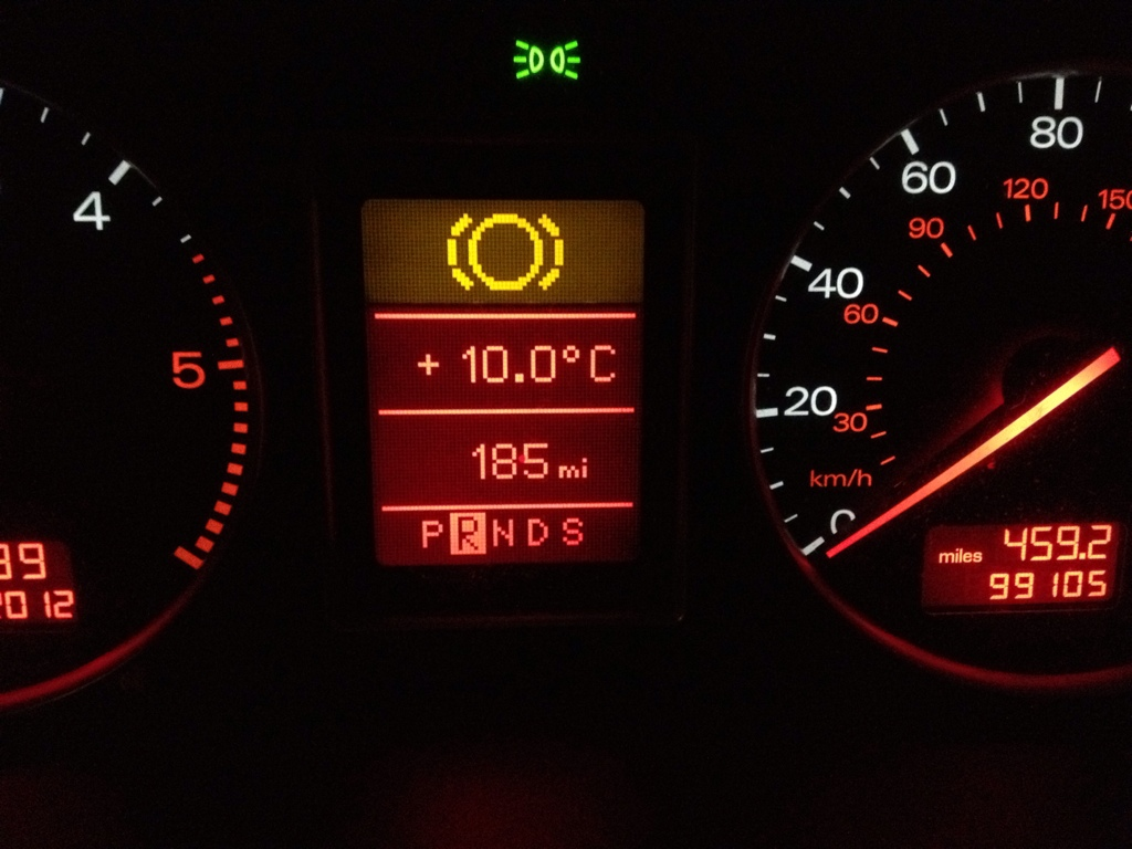 Audi Cabriolet Warning Lights