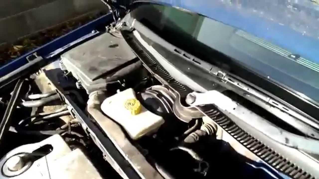 audi cabriolet water leak
