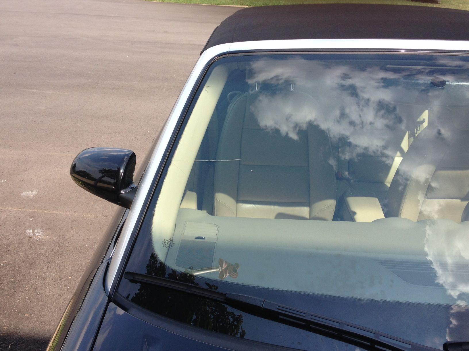 audi cabriolet windscreen