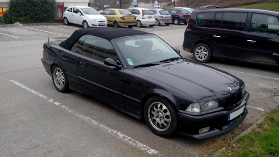 bmw cabriolet 320i e36