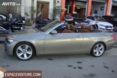 bmw cabriolet a vendre maroc