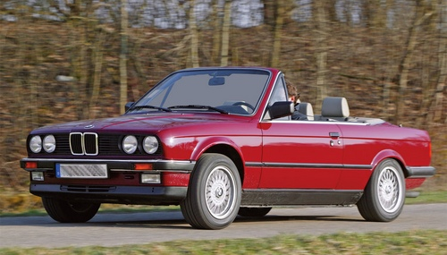 bmw cabriolet annee 70