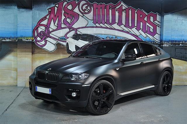 bmw cabriolet noir mat