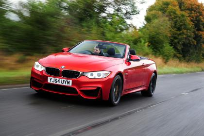 bmw cabriolet red