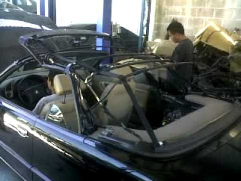 bmw cabriolet roof problems