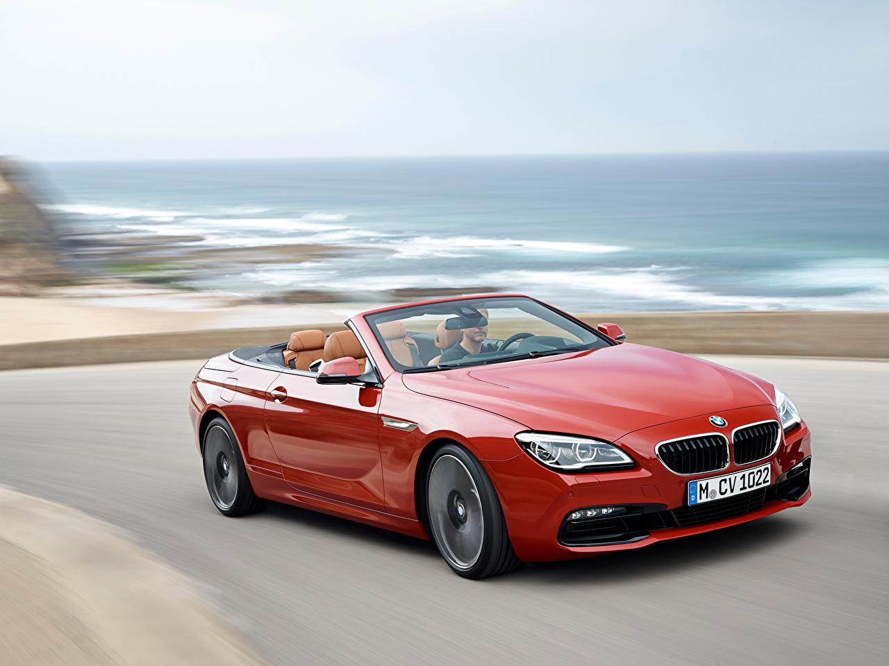 bmw cabriolet rouge