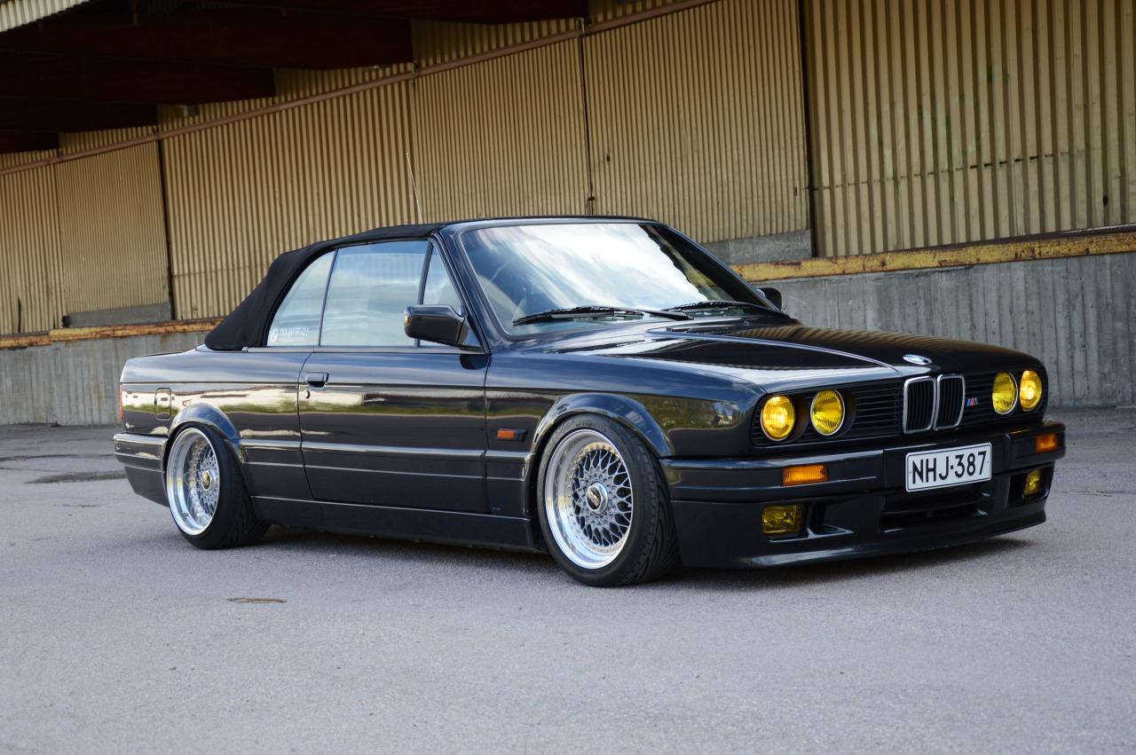 bmw e30 cabriolet german look
