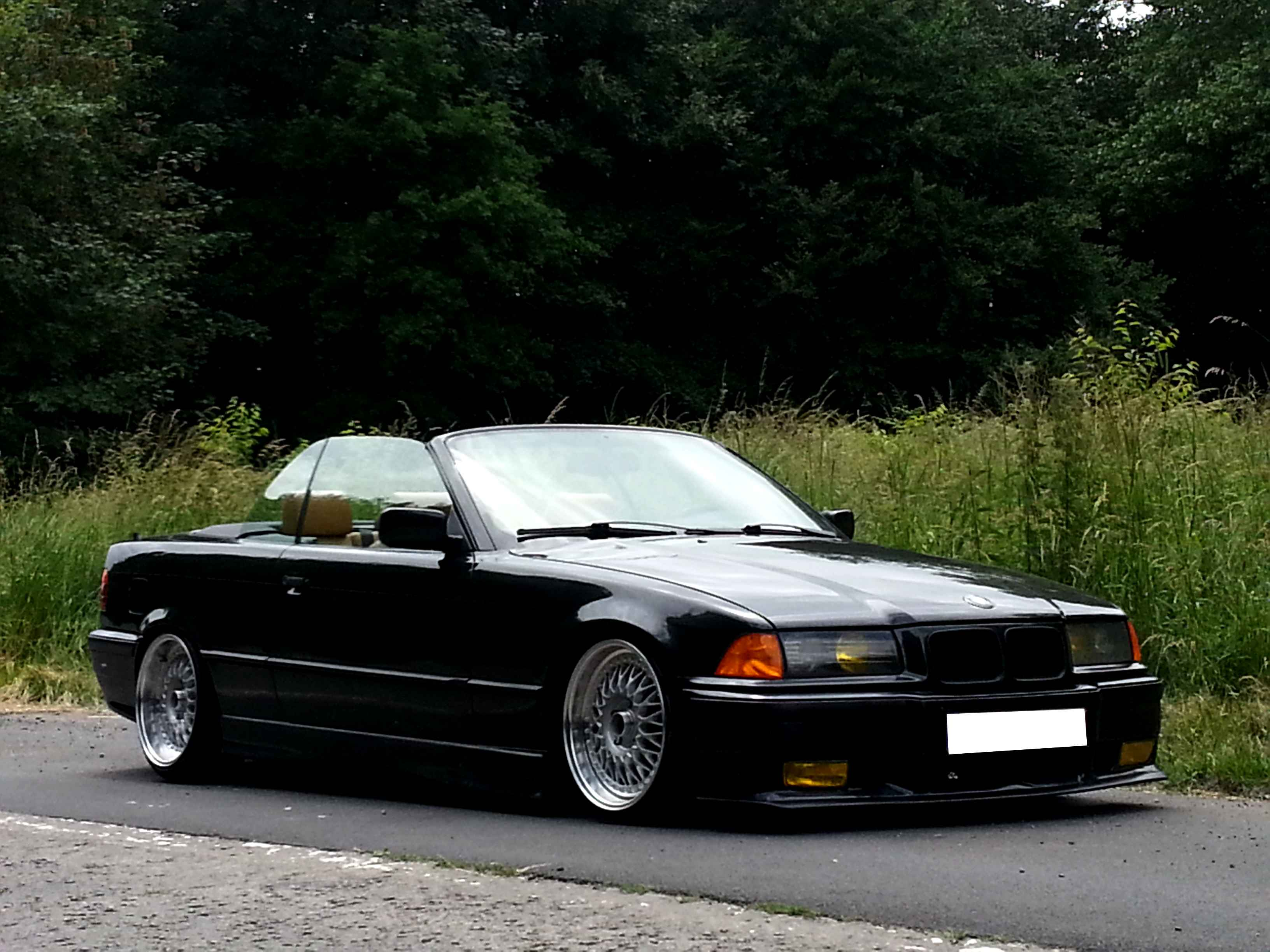 bmw e36 cabriolet german look