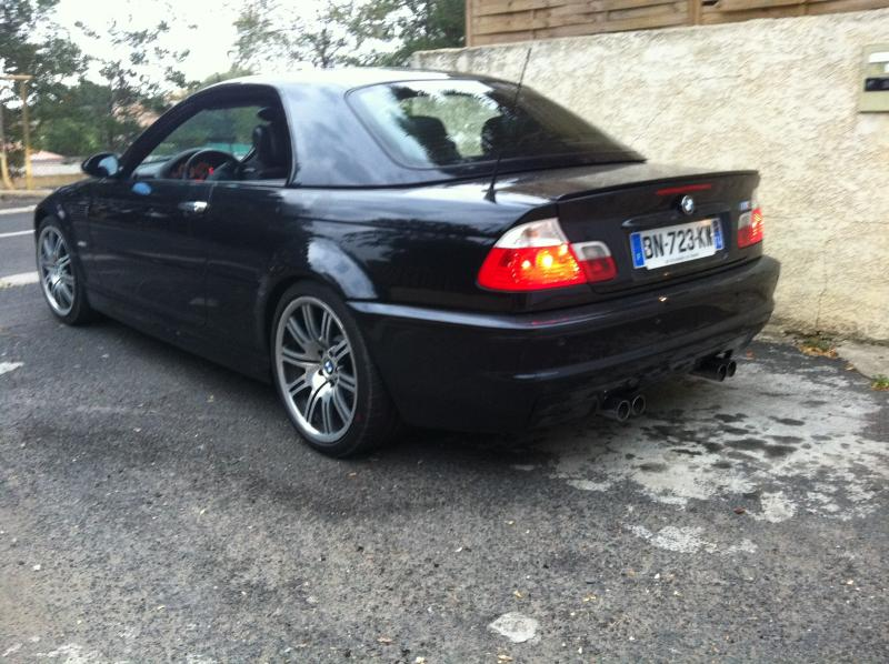 bmw e46 cabriolet noir