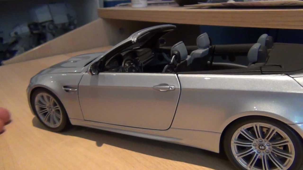 bmw m3 cabriolet kyosho 1 18 scale
