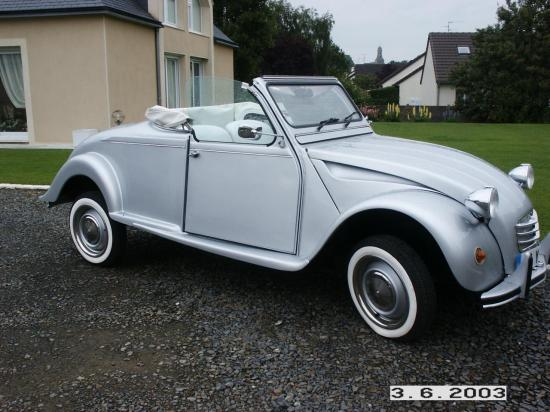 cabriolet 2 chevaux