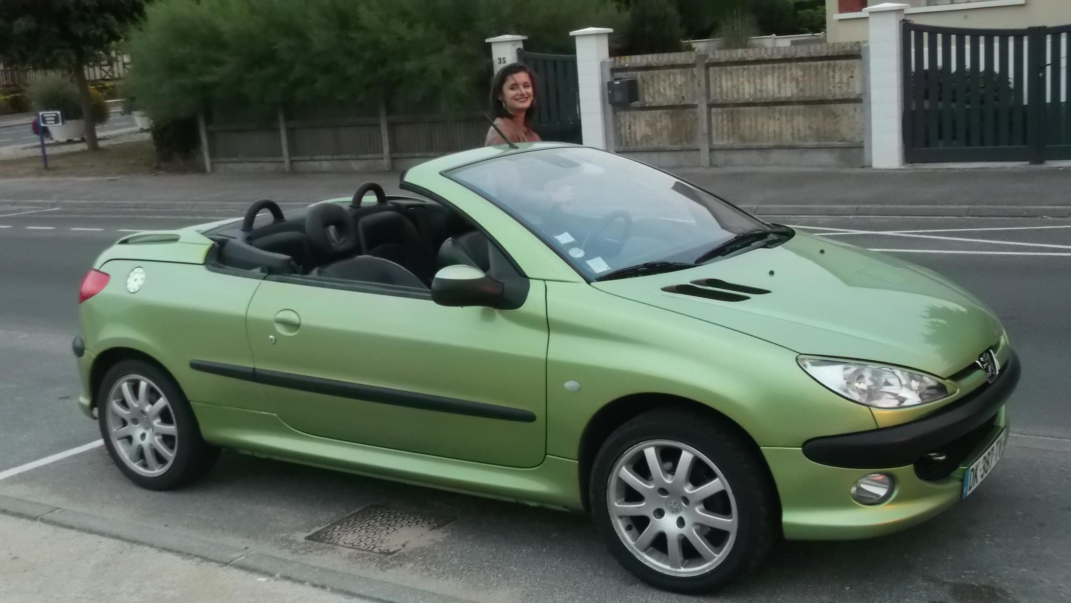 cabriolet 206 cc
