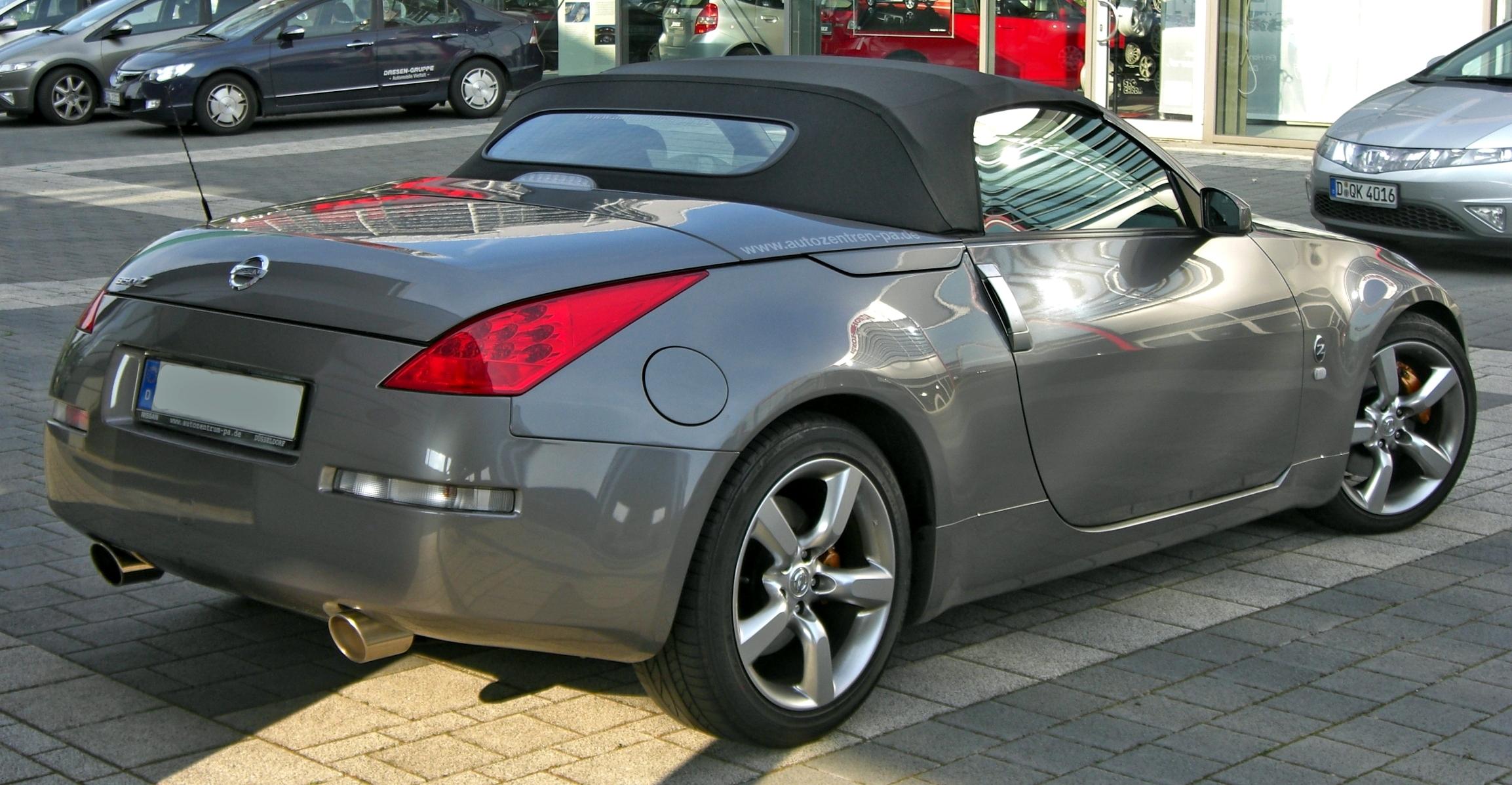 cabriolet 350z