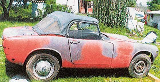 cabriolet a restaurer
