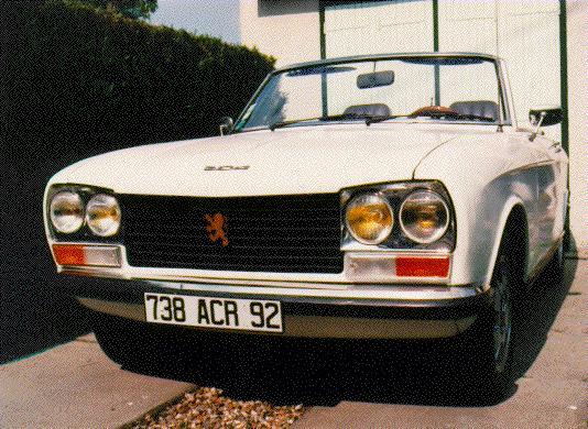 cabriolet des annees 70
