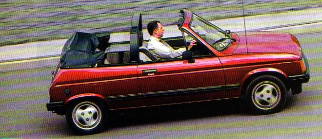 cabriolet des annees 80