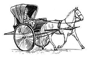 cabriolet hippomobile