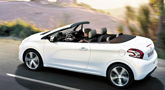 cabriolet neuf peugeot
