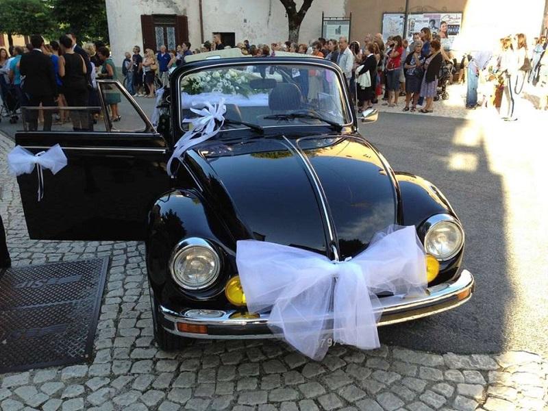 cabriolet per matrimoni