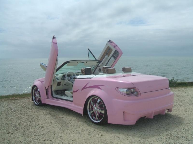 cabriolet rose