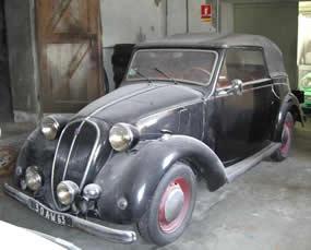 cabriolet simca 8