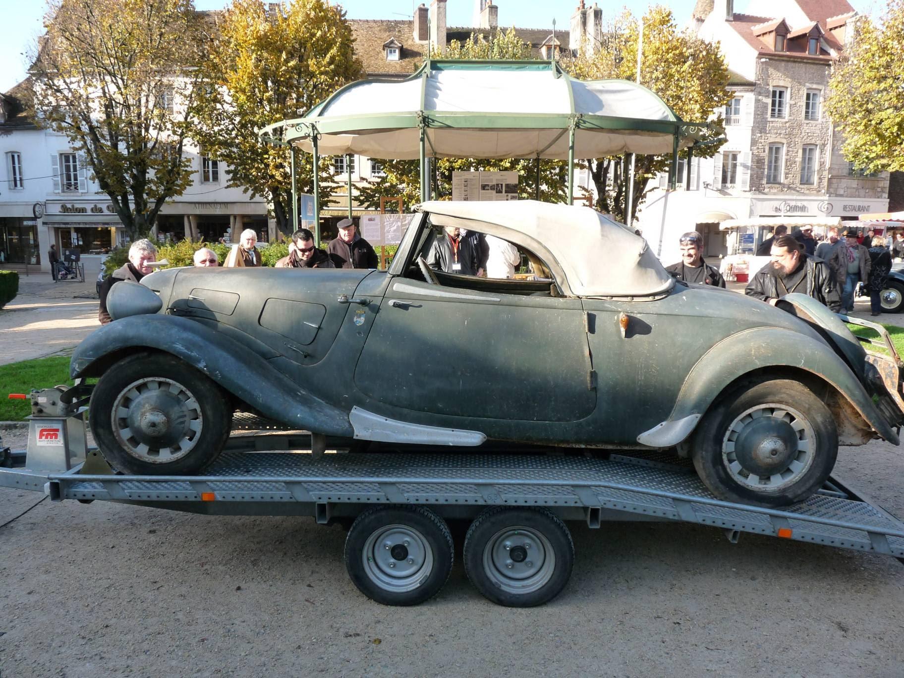 cabriolet traction