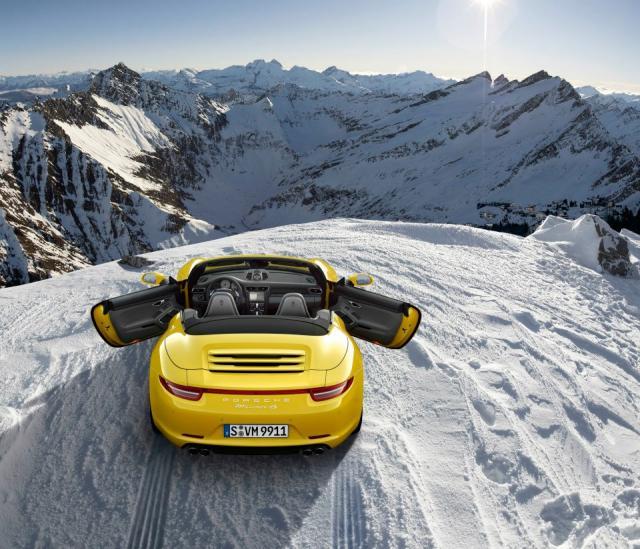 cabriolet winter