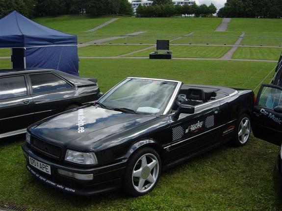 audi cabriolet 80 1995
