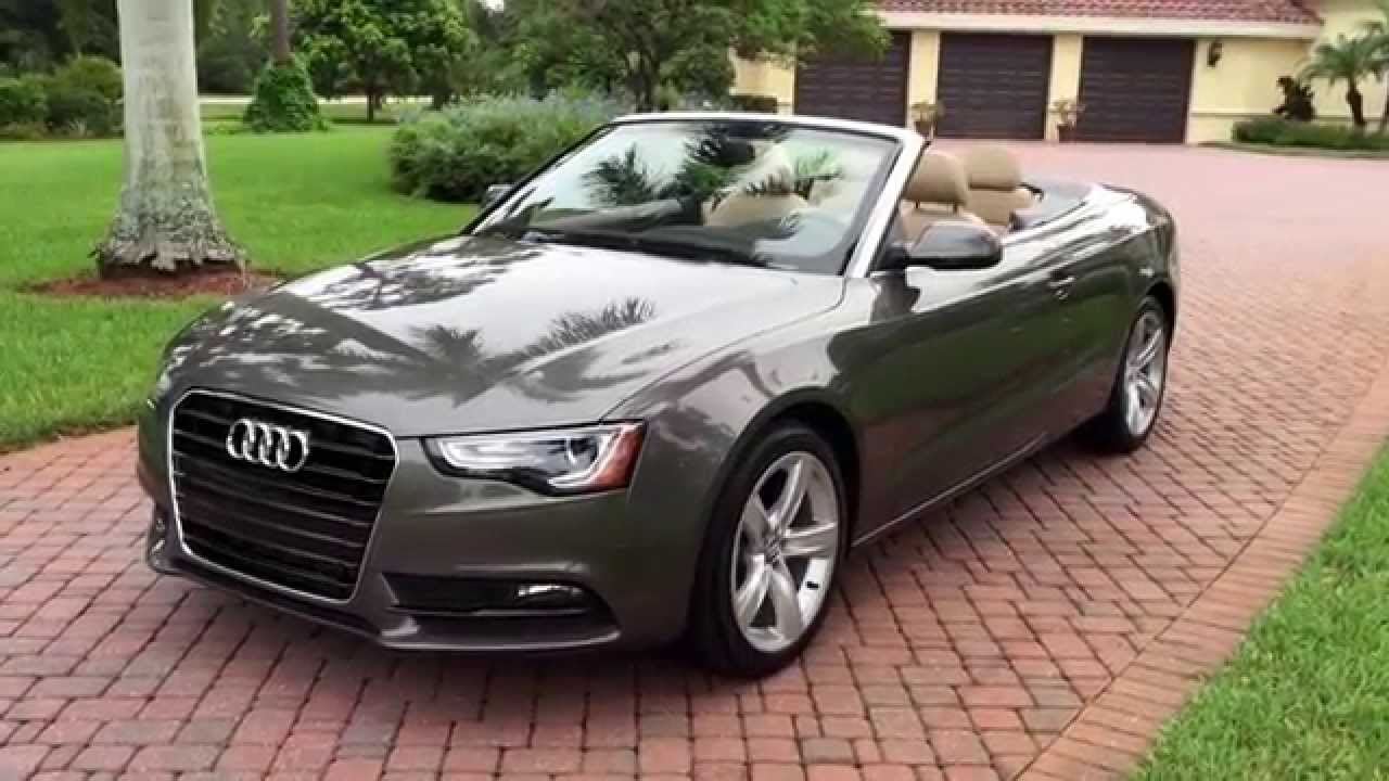 audi cabriolet a5 used