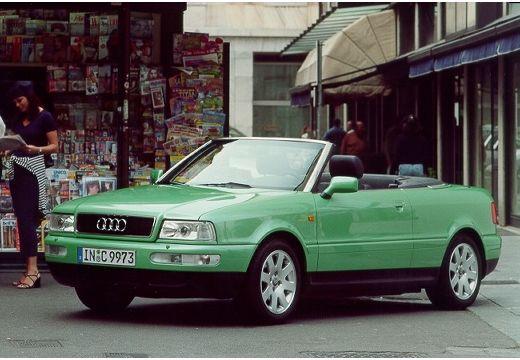 audi cabriolet green