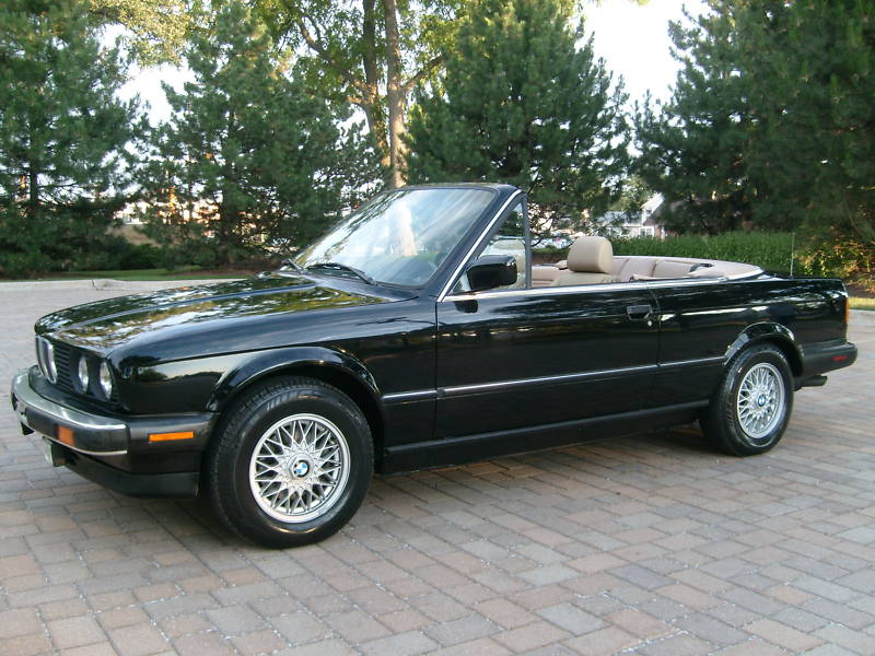bmw cabriolet 1991