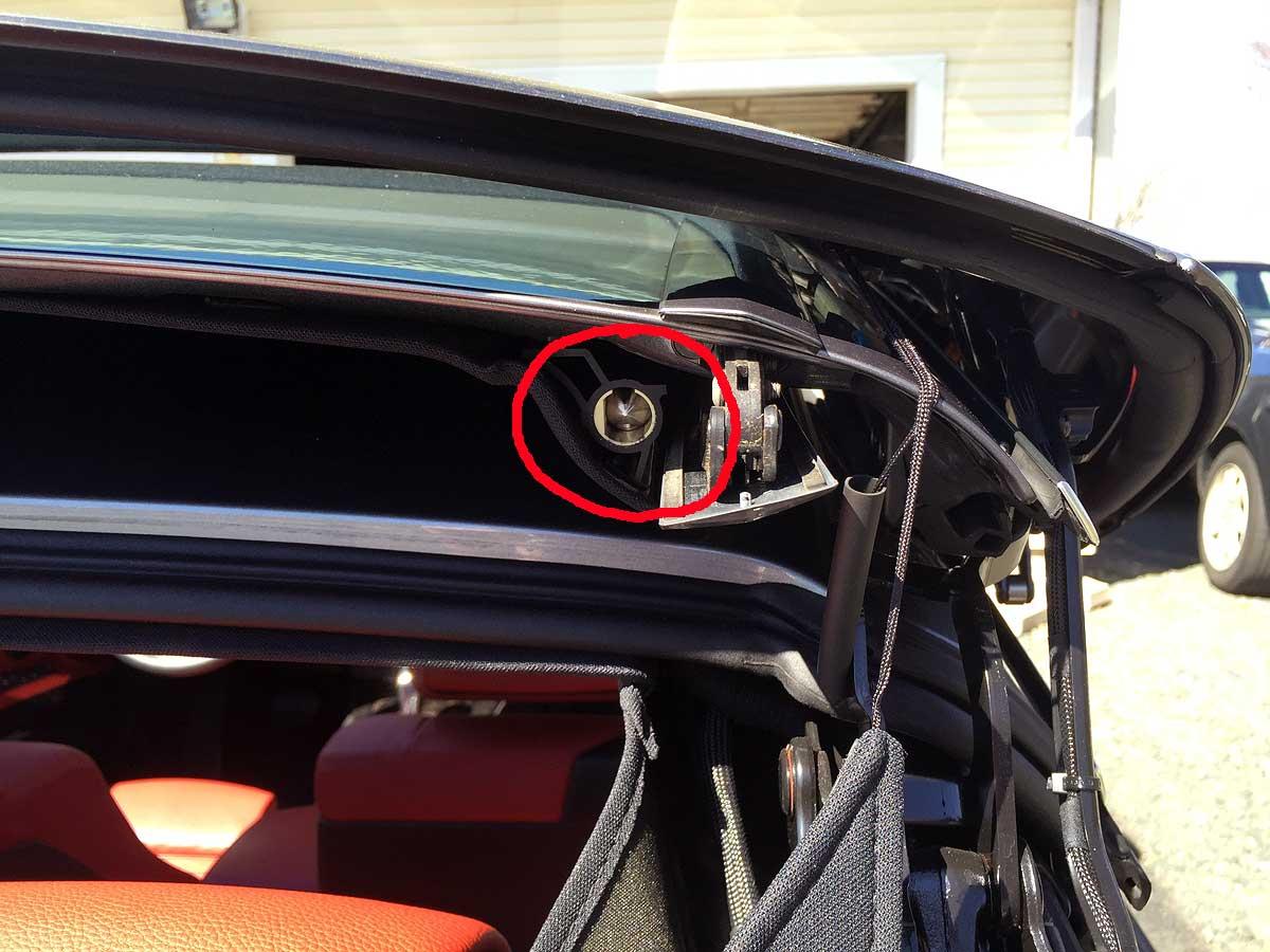 bmw e46 cabriolet roof problems