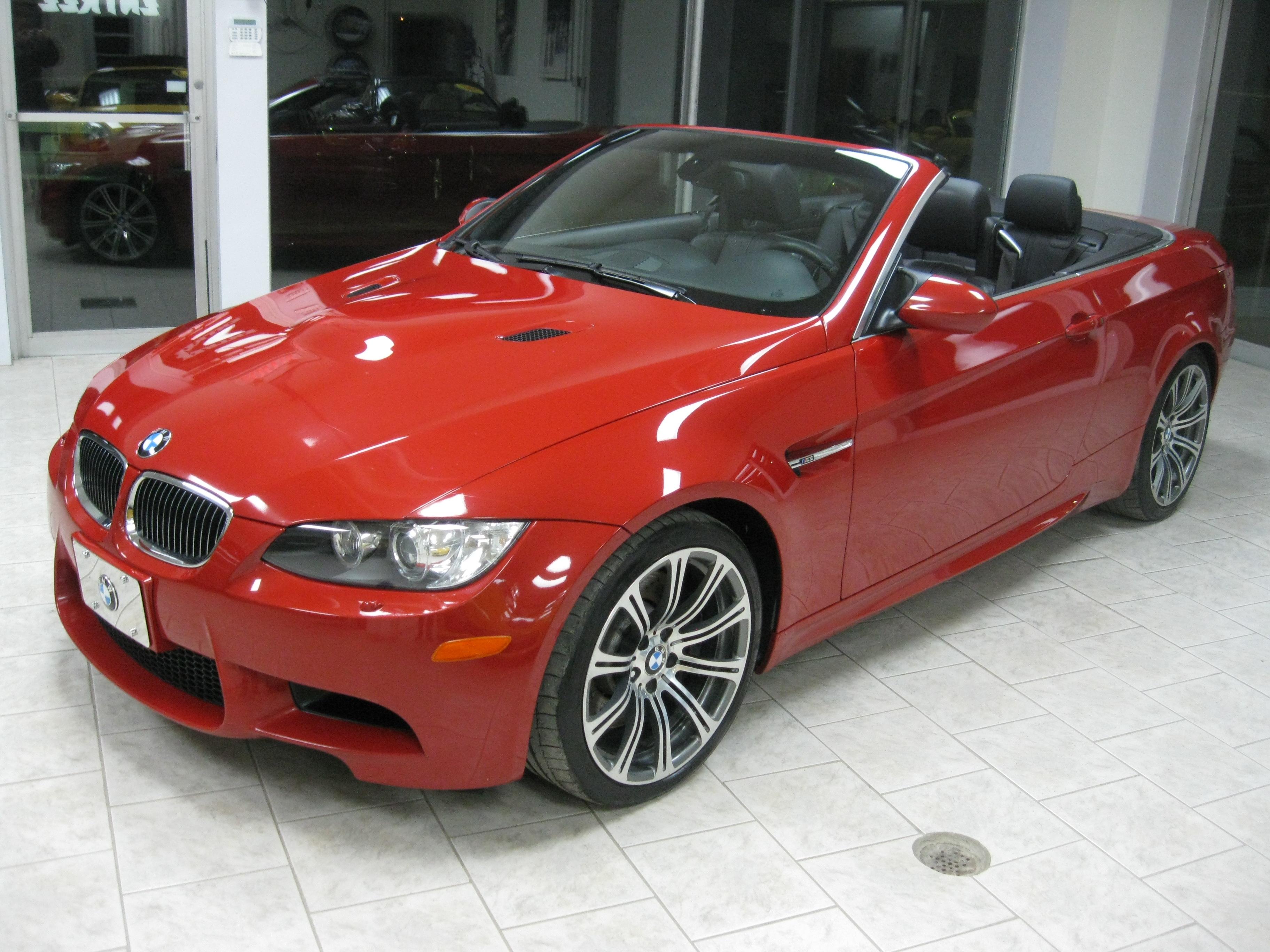 bmw m3 cabriolet a vendre