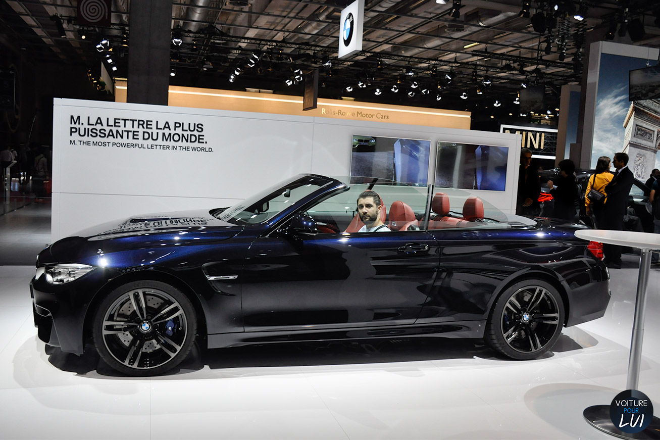 bmw m4 cabriolet noir