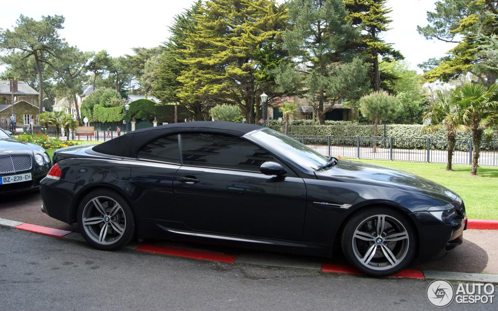bmw m6 cabriolet noir